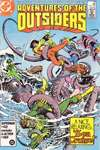 Adventures of the Outsiders #37 comic books - cover scans photos Adventures of the Outsiders #37 comic books - covers, picture gallery