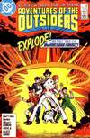 Adventures of the Outsiders #40 comic books - cover scans photos Adventures of the Outsiders #40 comic books - covers, picture gallery
