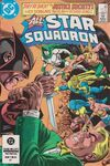 All-Star Squadron #30 comic books - cover scans photos All-Star Squadron #30 comic books - covers, picture gallery