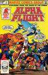 Alpha Flight #1 Comic Books - Covers, Scans, Photos  in Alpha Flight Comic Books - Covers, Scans, Gallery