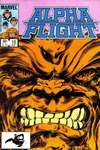 Alpha Flight #10 comic books - cover scans photos Alpha Flight #10 comic books - covers, picture gallery