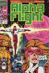Alpha Flight #100 comic books - cover scans photos Alpha Flight #100 comic books - covers, picture gallery