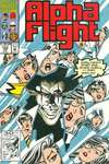 Alpha Flight #104 comic books - cover scans photos Alpha Flight #104 comic books - covers, picture gallery