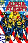 Alpha Flight #107 comic books for sale