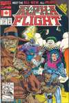 Alpha Flight #110 comic books - cover scans photos Alpha Flight #110 comic books - covers, picture gallery