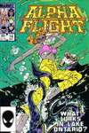 Alpha Flight #14 comic books - cover scans photos Alpha Flight #14 comic books - covers, picture gallery