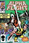 Alpha Flight #17 comic books - cover scans photos Alpha Flight #17 comic books - covers, picture gallery
