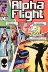 Alpha Flight #18 comic books - cover scans photos Alpha Flight #18 comic books - covers, picture gallery