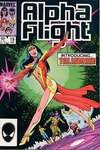 Alpha Flight #19 comic books - cover scans photos Alpha Flight #19 comic books - covers, picture gallery