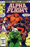Alpha Flight #2 comic books - cover scans photos Alpha Flight #2 comic books - covers, picture gallery