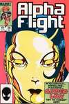 Alpha Flight #20 comic books - cover scans photos Alpha Flight #20 comic books - covers, picture gallery