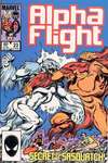 Alpha Flight #23 comic books - cover scans photos Alpha Flight #23 comic books - covers, picture gallery