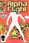 Alpha Flight #25 comic books - cover scans photos Alpha Flight #25 comic books - covers, picture gallery