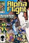Alpha Flight #26 comic books - cover scans photos Alpha Flight #26 comic books - covers, picture gallery