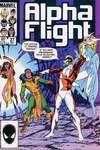 Alpha Flight #27 comic books - cover scans photos Alpha Flight #27 comic books - covers, picture gallery