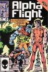 Alpha Flight #28 comic books - cover scans photos Alpha Flight #28 comic books - covers, picture gallery