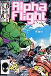 Alpha Flight #29 comic books - cover scans photos Alpha Flight #29 comic books - covers, picture gallery