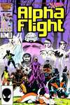 Alpha Flight #33 comic books - cover scans photos Alpha Flight #33 comic books - covers, picture gallery