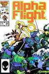 Alpha Flight #34 comic books - cover scans photos Alpha Flight #34 comic books - covers, picture gallery