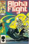 Alpha Flight #35 comic books - cover scans photos Alpha Flight #35 comic books - covers, picture gallery