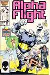 Alpha Flight #36 comic books - cover scans photos Alpha Flight #36 comic books - covers, picture gallery