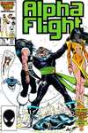 Alpha Flight #37 comic books - cover scans photos Alpha Flight #37 comic books - covers, picture gallery