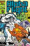 Alpha Flight #38 comic books - cover scans photos Alpha Flight #38 comic books - covers, picture gallery