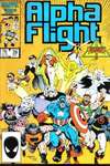 Alpha Flight #39 comic books - cover scans photos Alpha Flight #39 comic books - covers, picture gallery