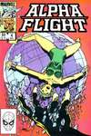 Alpha Flight #4 comic books - cover scans photos Alpha Flight #4 comic books - covers, picture gallery