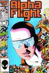 Alpha Flight #40 comic books - cover scans photos Alpha Flight #40 comic books - covers, picture gallery