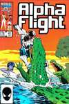 Alpha Flight #41 comic books - cover scans photos Alpha Flight #41 comic books - covers, picture gallery