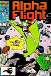 Alpha Flight #42 comic books - cover scans photos Alpha Flight #42 comic books - covers, picture gallery