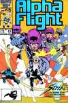 Alpha Flight #43 comic books - cover scans photos Alpha Flight #43 comic books - covers, picture gallery