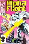 Alpha Flight #44 comic books for sale