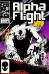 Alpha Flight #45 comic books - cover scans photos Alpha Flight #45 comic books - covers, picture gallery