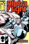 Alpha Flight #46 comic books - cover scans photos Alpha Flight #46 comic books - covers, picture gallery