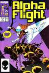 Alpha Flight #47 comic books - cover scans photos Alpha Flight #47 comic books - covers, picture gallery