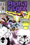 Alpha Flight #48 comic books - cover scans photos Alpha Flight #48 comic books - covers, picture gallery