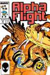 Alpha Flight #49 comic books - cover scans photos Alpha Flight #49 comic books - covers, picture gallery