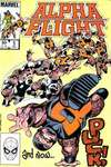 Alpha Flight #5 comic books - cover scans photos Alpha Flight #5 comic books - covers, picture gallery