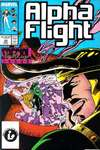 Alpha Flight #50 comic books - cover scans photos Alpha Flight #50 comic books - covers, picture gallery