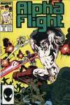 Alpha Flight #51 comic books - cover scans photos Alpha Flight #51 comic books - covers, picture gallery