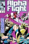 Alpha Flight #52 comic books - cover scans photos Alpha Flight #52 comic books - covers, picture gallery