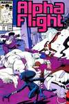 Alpha Flight #54 comic books for sale