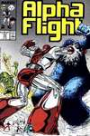 Alpha Flight #55 comic books for sale