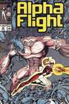 Alpha Flight #56 comic books - cover scans photos Alpha Flight #56 comic books - covers, picture gallery