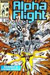Alpha Flight #57 comic books - cover scans photos Alpha Flight #57 comic books - covers, picture gallery