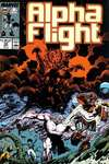 Alpha Flight #58 comic books - cover scans photos Alpha Flight #58 comic books - covers, picture gallery