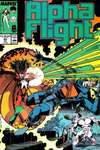 Alpha Flight #60 comic books - cover scans photos Alpha Flight #60 comic books - covers, picture gallery