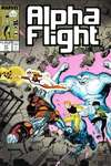 Alpha Flight #61 comic books - cover scans photos Alpha Flight #61 comic books - covers, picture gallery